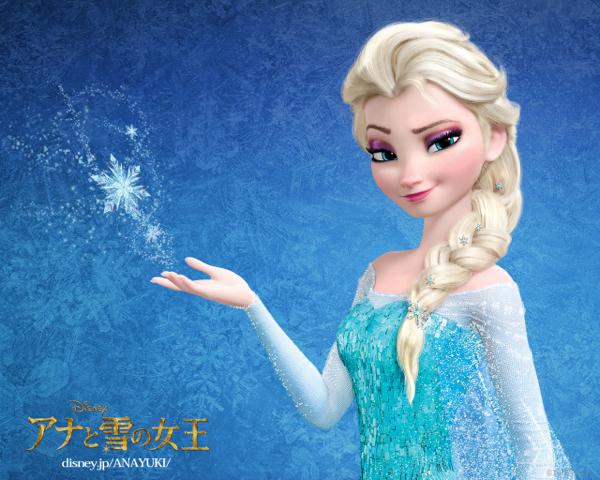 ディズニー壁紙_アナと雪の女王(エルサ)