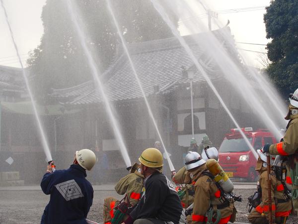 一日消防署長4